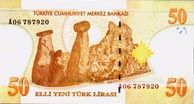50 New Turkish Lira