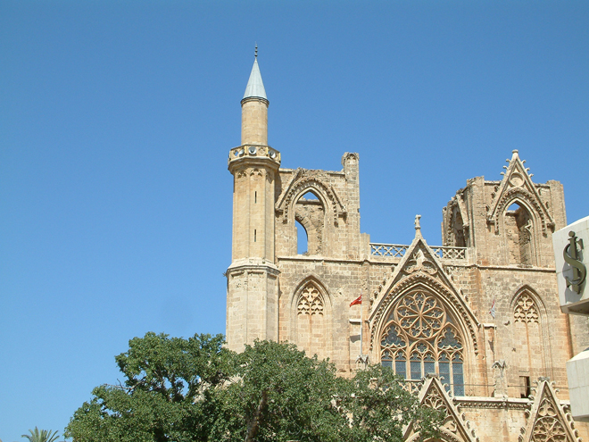Lala Mustafa Pasa Mosque - St Nicolas' Cathedral, Famagusta