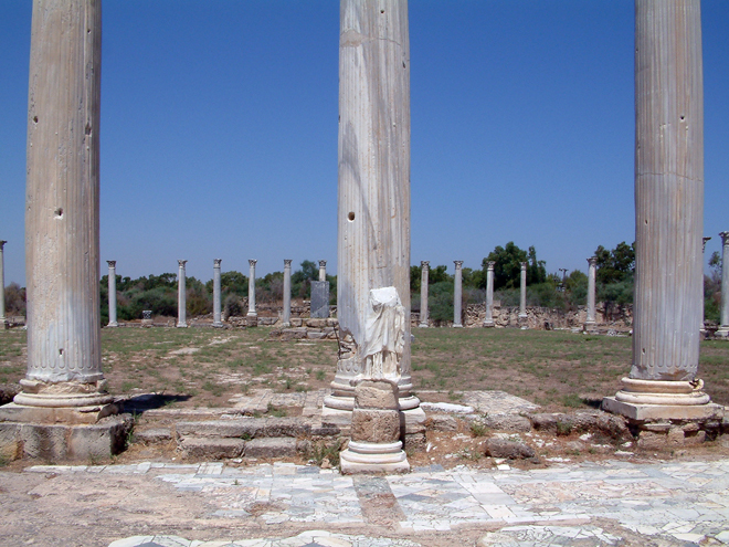 Salamis Antient City, Famagusta, North Cyprus