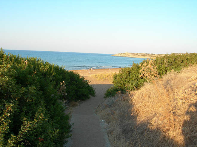 Turtle Beach, Kyrenia, North Cyprus